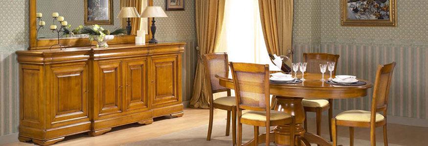meubles en bois massif