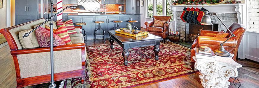 tapis d'origine orientale